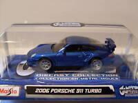 2006 PORSCHE 911 Turbo, Custom Shop, Maisto 1:64, NUOVO, conf. orig.