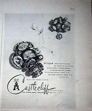 1951 Castlecliff Mousse Agate Bijoux Annonce