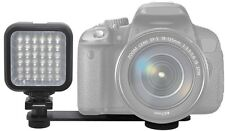 LED Light Kit With 2 Battery & Charger for Sony DSLR-A380 SLT-A35K SLT-A33L
