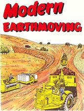 Caterpillar Modern Earthmoving Booklet D7 D8 DW21 1950s