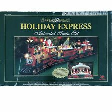 The New Bright 2001 Holiday Express Animated Train Set #384 G-Scale Model Kit