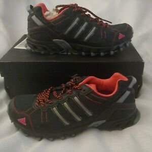 Bnip Adidas Womans Rockadia Trail W Running Course Hiking Shoe 7 black/pink