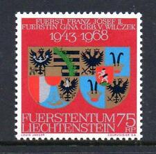 Liechtenstein neuf sans charnière 1968 SG491 royal argent mariage anniversaire