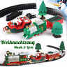 Christmas Musical Train Carriages Tracks Christmas Tree Kids Children Toy Gift