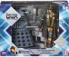 Doctor Who The Fourth Doctor with Dalek