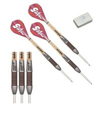 22g Unicorn Mirage Phase 5 Rosso Ring 95% Tungsten Darts Set with Purist Wallet