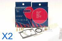 YAMAHA YDS6 YDS 6 - C  250 TWIN KEYSTER CARBURETOR REBUILD KITS 1968 x 2