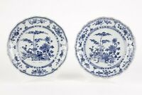Antique Chinese plates 18th Century Kangxi three friends of winter