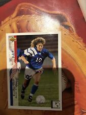 1994 Upper Deck World Cup USA '94 Soccer Card #267 Michelle Akers Very Good