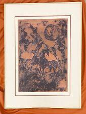 Lebadang Hoi (Vietnames 1922-2015) Signed Artist Proof Lithograph