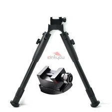 """9 """" Tactical Hunting Bipod Stabilizer with Rifle Picatinny & Swivel Stud Mount"""