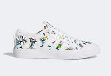 adidas Men's 3MC x Disney Sport Goofy Casual Shoes White Canvas Trainers