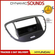 CT24HY16 Black Single Din Fascia Surround Panel Trim For Hyundai I10 2008 - 2013