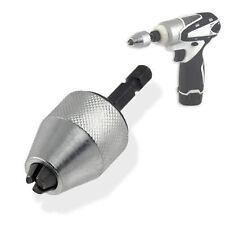 Impact Driver Keyless Chuck 0.5 to 6mm fits Bosch Makita  RYOBI HILTI PANASONIC