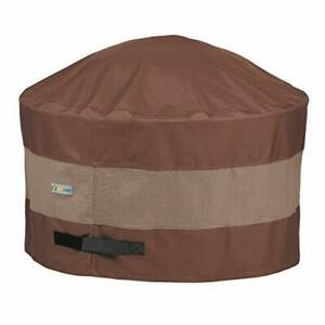 Duck Covers Ultimate Waterproof 50 Inch Round Fire Pit Cover