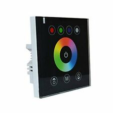 Wall Touch Panel RGBW 5pin rgbw 5050 Dimmer Led controller Glass DC12/24v