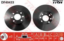 DF4043 TRW Brake Disc Front Axle