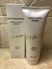 M.D.  MD Forte HAND AND BODY CREAM FULL SIZE - READ