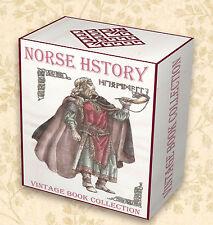 260 Norse Viking Mythology Books on DVD  Valhalla Runes Thor Odin Asgard Gods 40
