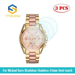 3Pcs Tempered Glass Film For Michael Kors Access Runway MKT5026 Smart watch