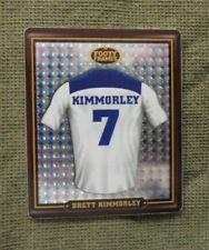 2009   CANTERBURY BULLDOGS  RUGBY LEAGUE FOOTY FRAME TAZO  #6  BRETT KIMMORLEY
