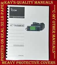 Highest Quality ~  ICOM IC-706MKIIG Instruction Manual  😊C-MY OTHER MANUALS😊