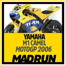 Kit Adesivi Yamaha M1 MotoGP Camel 2006 - Valentino Rossi - High Quality Decals