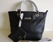 New Guess black large Tote bag shoulder bag + one coin purse
