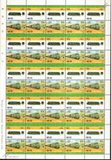 1927 PO/SNCF Class 5500 ELECTRA France Train 50-Stamp Sheet / LOCO 100 LOTW