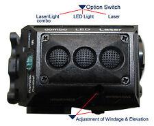 Tactical LED Flashlight & Green Laser combo Glock 17 19 20 21 22 23