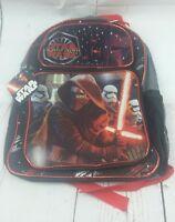 New Star Wars Episode 7 The Force Awakens Backpack Kylo Ren Stormtroopers Black