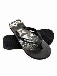 Men women Flip Flops Soft Flat Slippers Summer Casual Beach Shoes Rubber Sandals