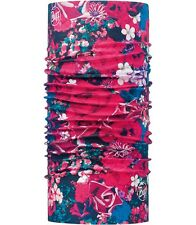 Buff Original valerie Headgear ActiVEWeaR 113088 NEW NWT floral blue red flowers