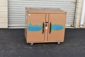 Knaack 44 Jobmaster job box Rolling Work Bench, 800 lb.