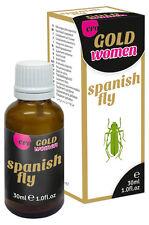 Estimulante sexual para Mujer + Libido HOT Español Fly mujer Oro Fuerte 30 m