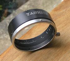 genuine Yashica rangefinder lens hood shade  48mm clamp on