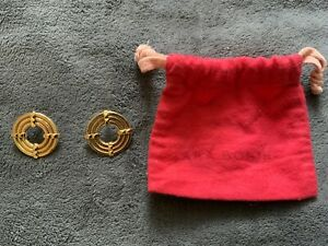 Lara Bohinc Gold Eclipse Earrings
