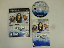 SINGSTAR COUNTRY PLAYSTATION 2 PS2 **FREE SHIPPING**COMPLETE