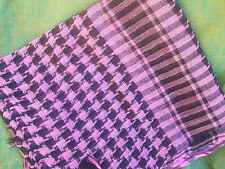 SHEMAGH ARAB HEAD SCARF - UNISEX VARIOUS COLOURS NEW MADE
