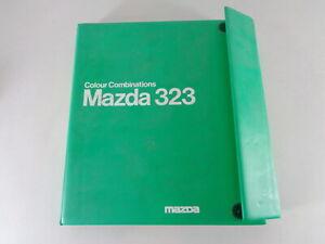 Polstermappe + Lackmuster Mazda 323 Ba 1994-2000 Coupé, Sedán , Hatchback