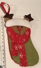 Hanging Socking Christmas Sock Xmas Decoration Small Tree Reindeer Santa Balls