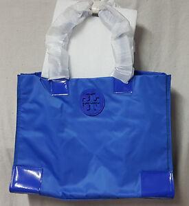 Tory Burch Bag 22139694 Nylon Ella Peacock Blue Tote Agsbeagle