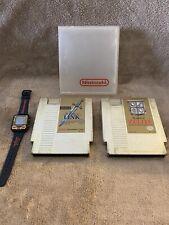 Nintendo Zelda Watch With 2 Games Zelda And Link RARE!!