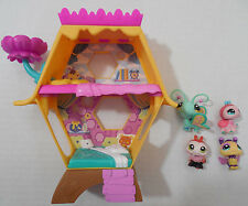 LPS Littlest Pet Shop Beehive Honey Comb House + Bee Butterflys ladybug