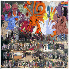 1000 Pieces Naruto Wooden Puzzle Toy Jigsaw Puzzles Decoration Xmas Gift