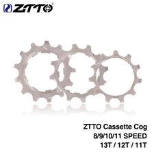 Ztto звездочки шестерни для горного велосипеда, дорожного велосипеда 8/9/10/11 скорость 11/12/13T для кассеты Shimano