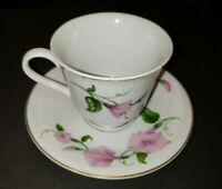 TELEFLORA  Morning Glory Coffee Mug Tea Cup & Saucer Set