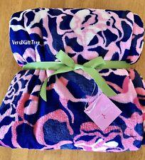 Vera Bradley Throw Blanket KATALINA PINK Breast Cancer Awareness RARE NWT 💕GIFT