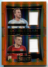 Harry Kane/Jamie Vardy 2016-17 Panini Select Soccer Jersey Orange #70/75 England