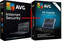 AVG Internet Security & TuneUp 2018 - 1 PC or Laptop & for 1 year - DOWNLOAD